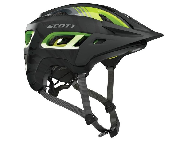 SCOTT Stego Helmet dark grey/green click to zoom image