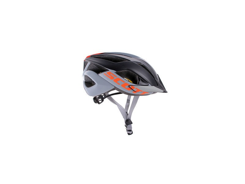 SCOTT ARX MTB Plus Helmet Grey Orange click to zoom image