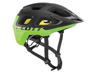 SCOTT Vivo Plus Helmet Black Green Flash