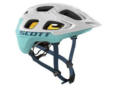 SCOTT Vivo Plus Helmet White Blue