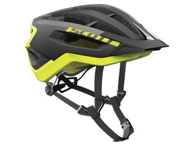 SCOTT Fuga Plus Rev (CE) Helmet Black Yellow RC