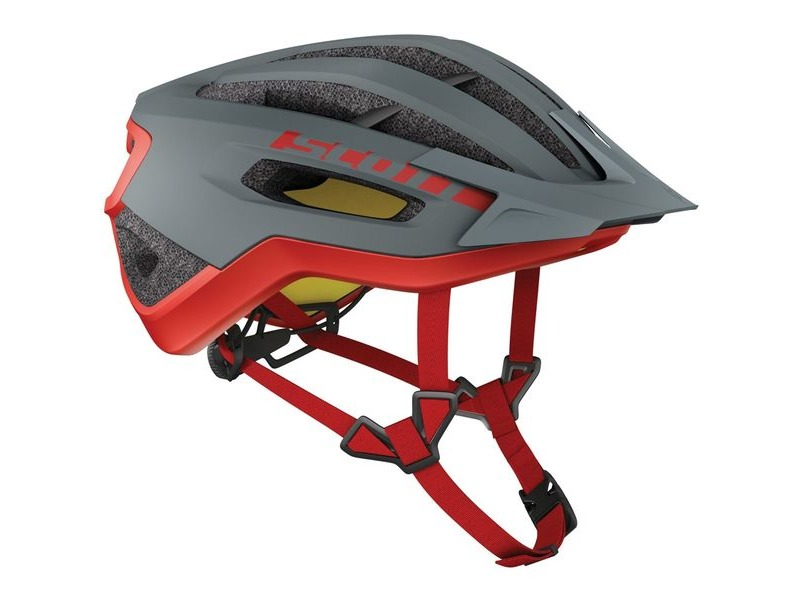 SCOTT Fuga Plus Rev (CE) Helmet Grey Red click to zoom image