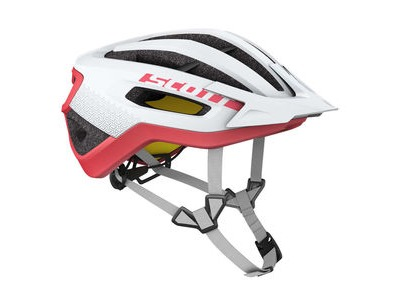 SCOTT Fuga Plus Rev (CE) Helmet White Melon Red