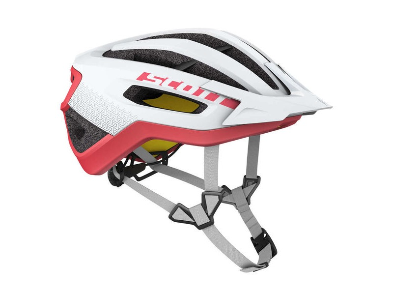 SCOTT Fuga Plus Rev (CE) Helmet White Melon Red click to zoom image
