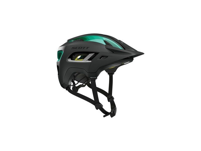 SCOTT Scott Stego Helmet Black Teal blue click to zoom image