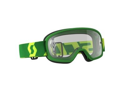 SCOTT BUZZ MX PRO GOGGLE  green/yellow / clear works  click to zoom image