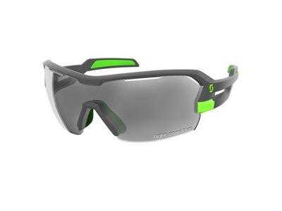 SCOTT Scott Spur Light Sensitive Glasses  Grey Matt/Green/Grey light sensitive + clear  click to zoom image