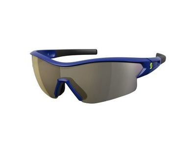 SCOTT Scott Leap Glasses  Blue/Gold Chrome  click to zoom image
