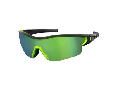SCOTT Scott Leap Glasses  Black Matt/Neon Green  click to zoom image