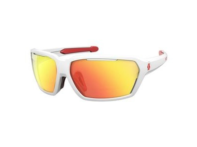 SCOTT Scott Vector Glasses  White/Red/Red Chrome  click to zoom image