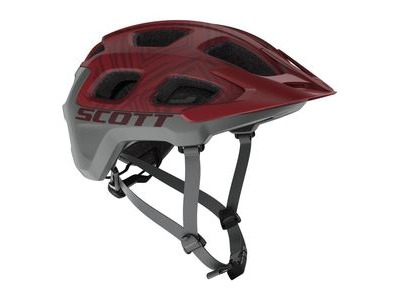 SCOTT Vivo Plus Helmet Merlot Red/Grey