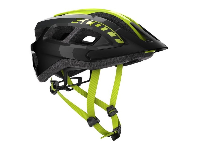 SCOTT Scott Supra (CE) Helmet Black/Yellow click to zoom image