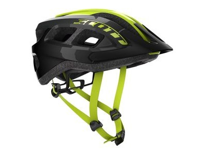 SCOTT Scott Supra (CE) Helmet Black/Yellow