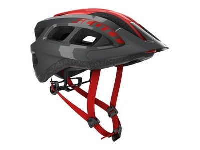 SCOTT Scott Supra (CE) Helmet Grey/Red