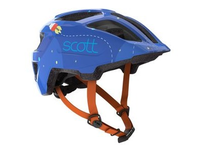SCOTT Spunto Kid One Size Blue/Orange  click to zoom image