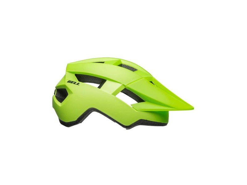 BELL Spark MTB Helmet 2019: Matte Bright Green/Black Unisize 54-61cm click to zoom image
