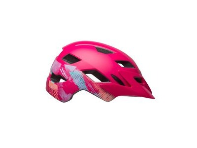 BELL Sidetrack Youth Helmet 2019: Gnarly Matte Berry Unisize 50-57cm