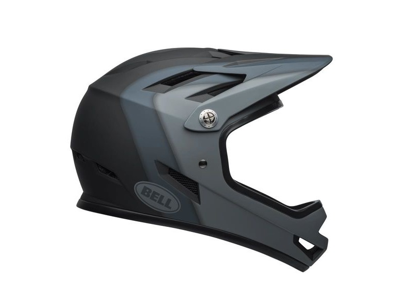 BELL Sanction MTB Full Face Helmet 2019: Presences Matte Black click to zoom image