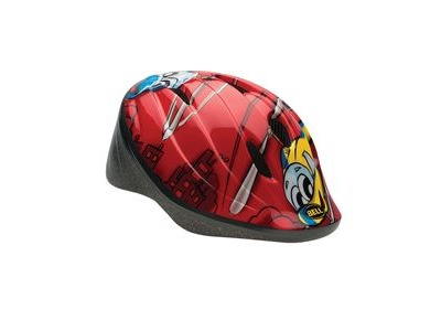 BELL Bellino Child's Helmet 2018: Red Helicopters