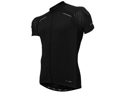 FUNKIER Stream Gents Short Sleeve Jersey in All-Black