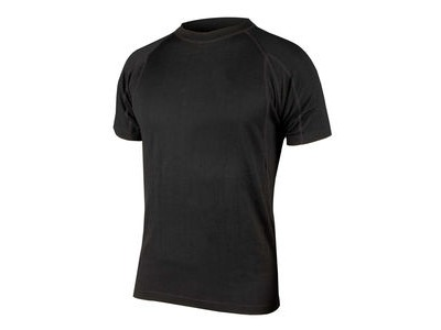 ENDURA BaaBaa Merino Short Sleeve Base Layer Black