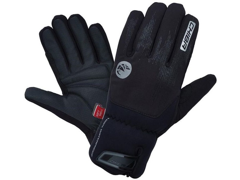 CHIBA Drystar Superlight Waterproof Gloves Black click to zoom image