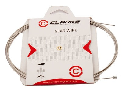 CLARKS Clarks Stainless Steel MTB / Hybrid / Road Gear Inner 2275mm (carded)